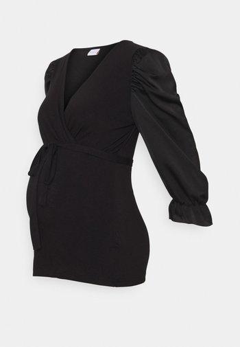 MLBONNIE TESS MIXED - Bluzka - black