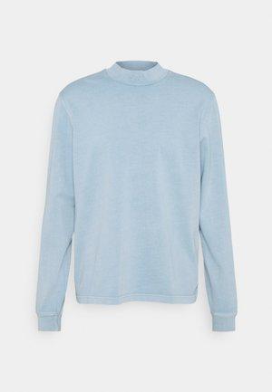 MOCK TEE - Långärmad tröja - meteor grey