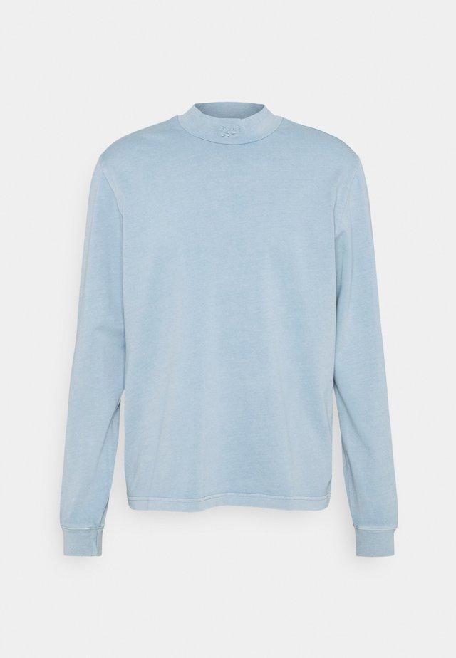 MOCK TEE - Maglietta a manica lunga - meteor grey