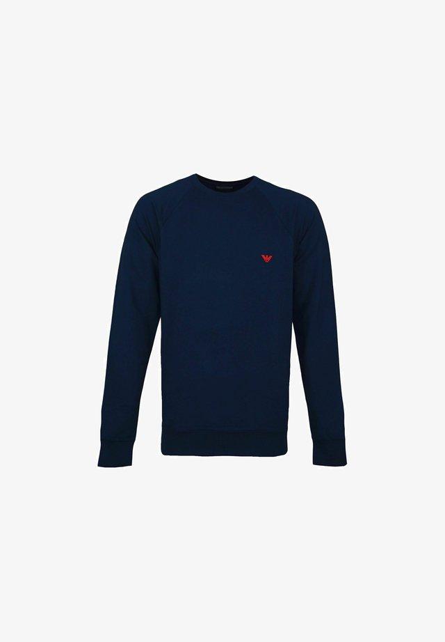 Maglietta a manica lunga - dunkelblau