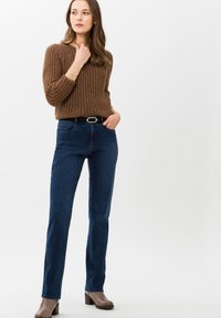 BRAX - STYLE CAROLA - Straight leg jeans - used regular blue - 1
