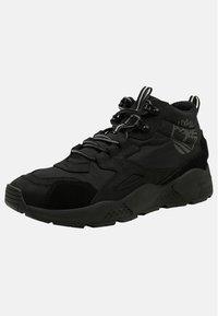 Timberland - RIPCORD MID HIKER  - Höga sneakers - black - 2