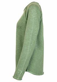 Lieblingsstück - Long sleeved top - oliv - 1