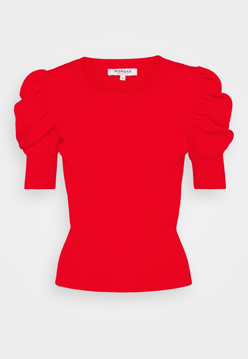 Morgan - MALAIKA - Print T-shirt - orange