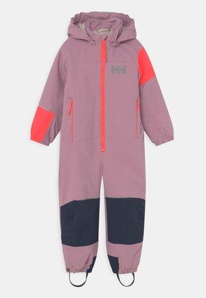 RIDER SUIT UNISEX - Snowsuit - pink ash