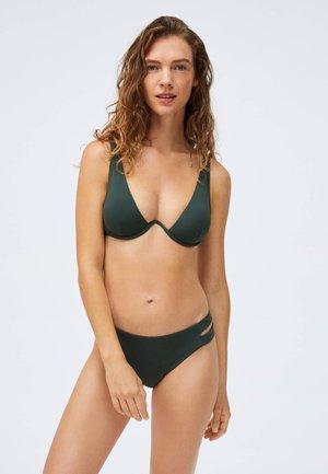 STRAP DETAIL - Bikini bottoms - evergreen