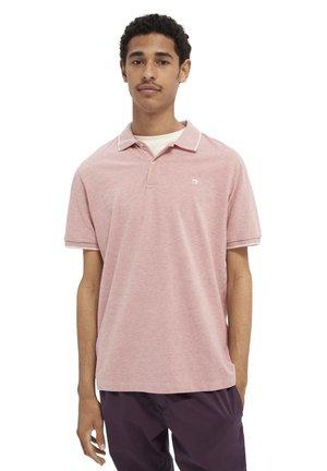 Polo shirt - wild pink melange