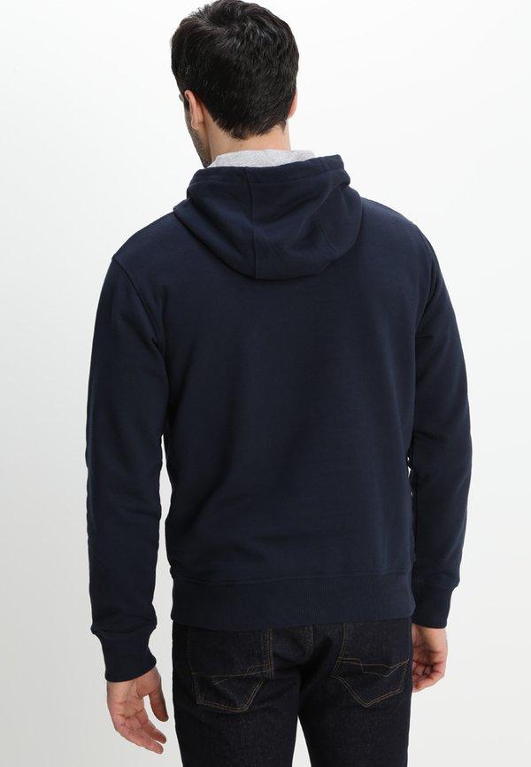 Timberland TREE LOGO - Bluza z kapturem - dark sapphir/granatowy Odzież Męska LWXS