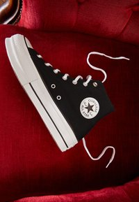 Converse - CHUCK TAYLOR ALL STAR LIFT - Zapatillas altas - black/white - 4