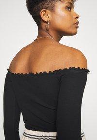 Even&Odd - 2 PACK - Long sleeved top - black/white - 6