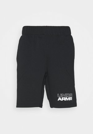 BASELINE SHORT - Sportovní kraťasy - black/black/white