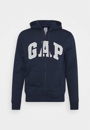 ARCH - veste en sweat zippée - tapestry navy