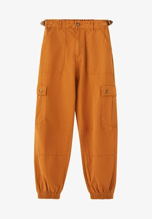 Cargo trousers - brown