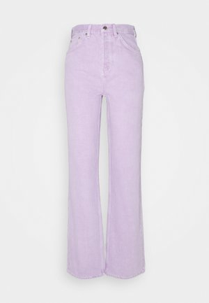 RUNWAY - Relaxed fit jeans - lilac