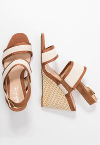 Clarks - IMAGE WEAVE - High heeled sandals - tan - 3