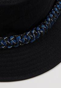 Hikari - ROPE TRIM BUCKET HAT - Kapelusz - black - 5
