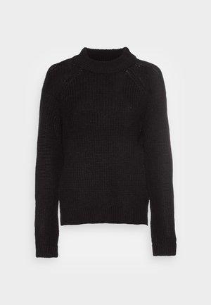 VMLEA HIGHNECK - Sweter - black