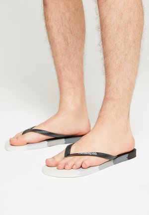 LOGOMANIA UNISEX - Pool shoes - gradient black