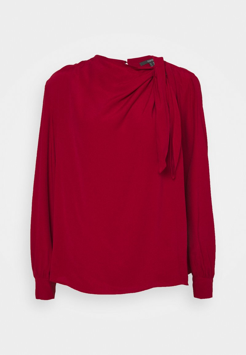 Esprit Collection - BLOUSE - Blouse - dark red