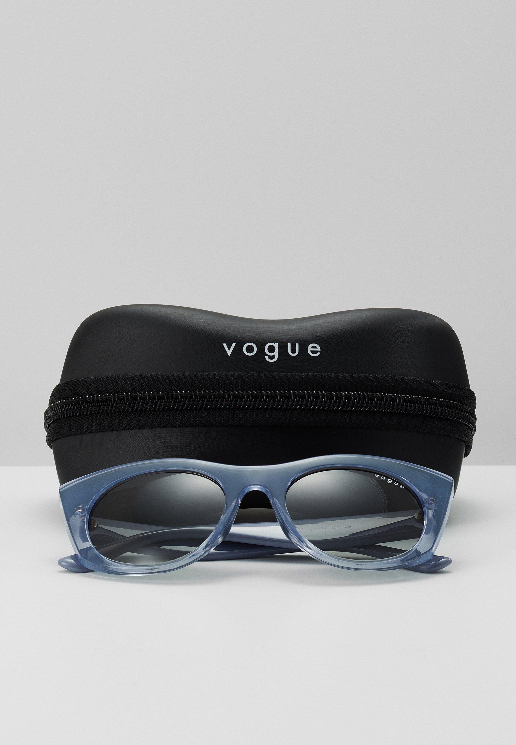 VOGUE Eyewear Lunettes de soleil - transparent, blue