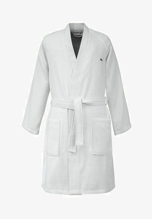Peignoir - white