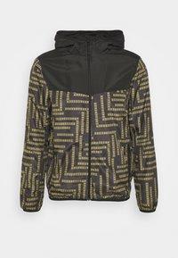 PEPAZTEC - Lehká bunda - black/gold