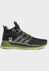 adidas Performance - PRO BOOST MID SHOES - Basketball shoes - black - 6