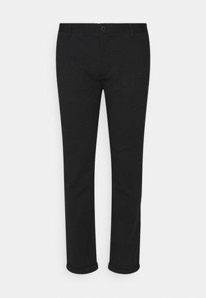 CLUB PANTS - Chino - black