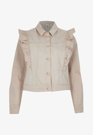 Denim jacket - cream