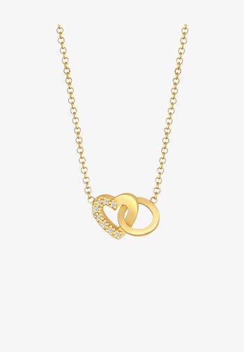HERZ LIEBE - Necklace - gold