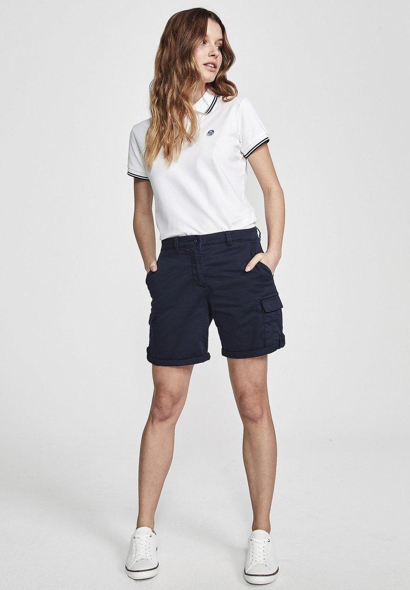 North Sails - Shorts - navy blue