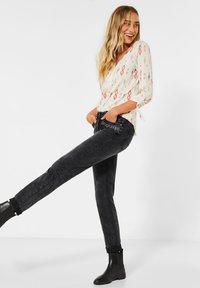 Cecil - Straight leg jeans - schwarz - 1