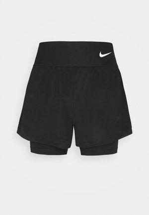 ADVANTAGE SHORT - Sports shorts - black/white