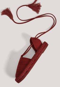 OYSHO - 11263580 - Espadrilles - red - 4