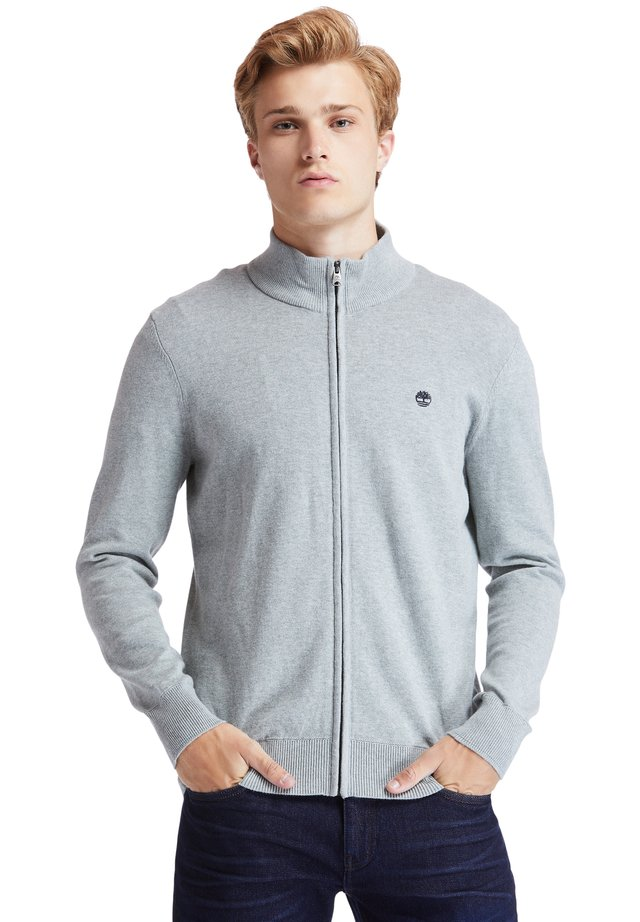 WILLIAMS RIVER FULL ZIP - Cardigan - medium grey heather