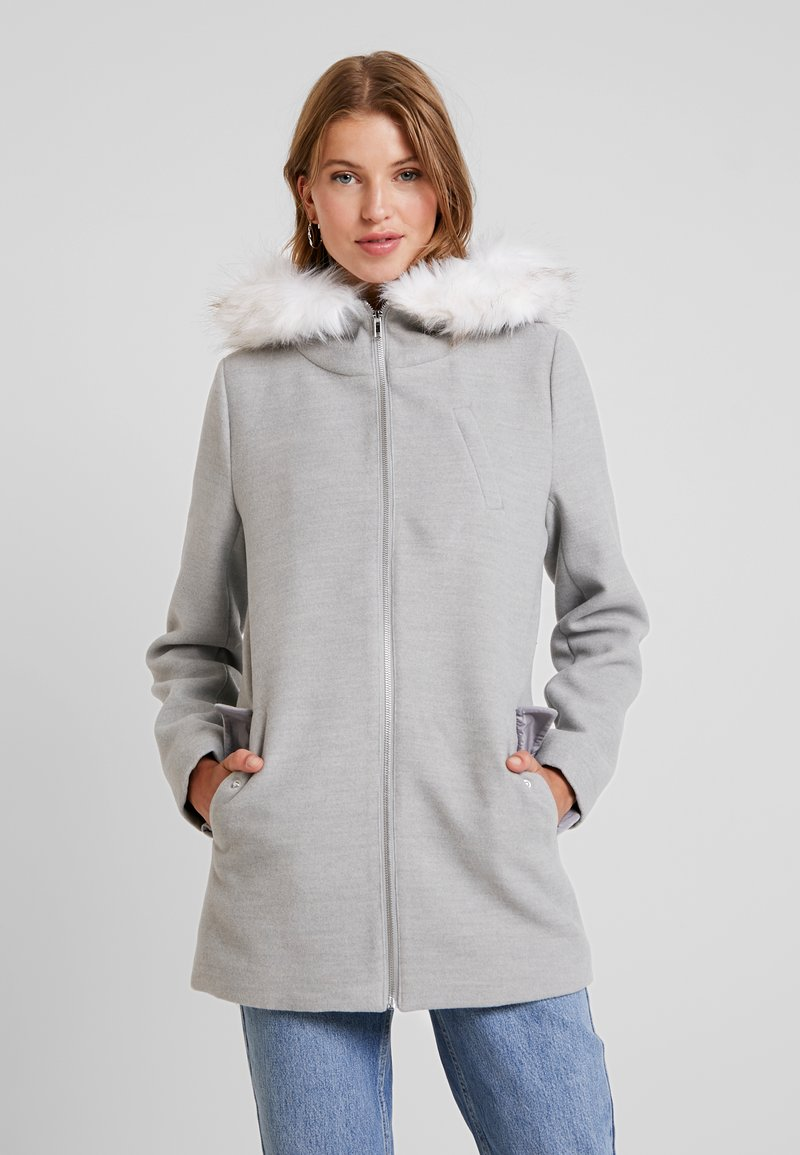 Even&Odd - Classic coat - light grey