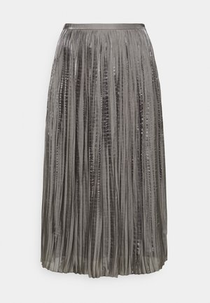 LISANN SKIRT  - Pleated skirt - gargoyle