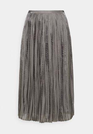 LISANN SKIRT  - Jupe plissée - gargoyle