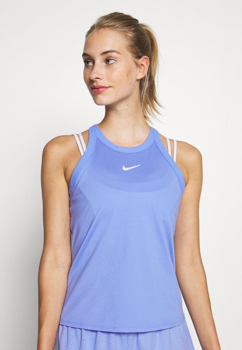 Nike Performance - DRY TANK - Sports shirt - royal pulse/white