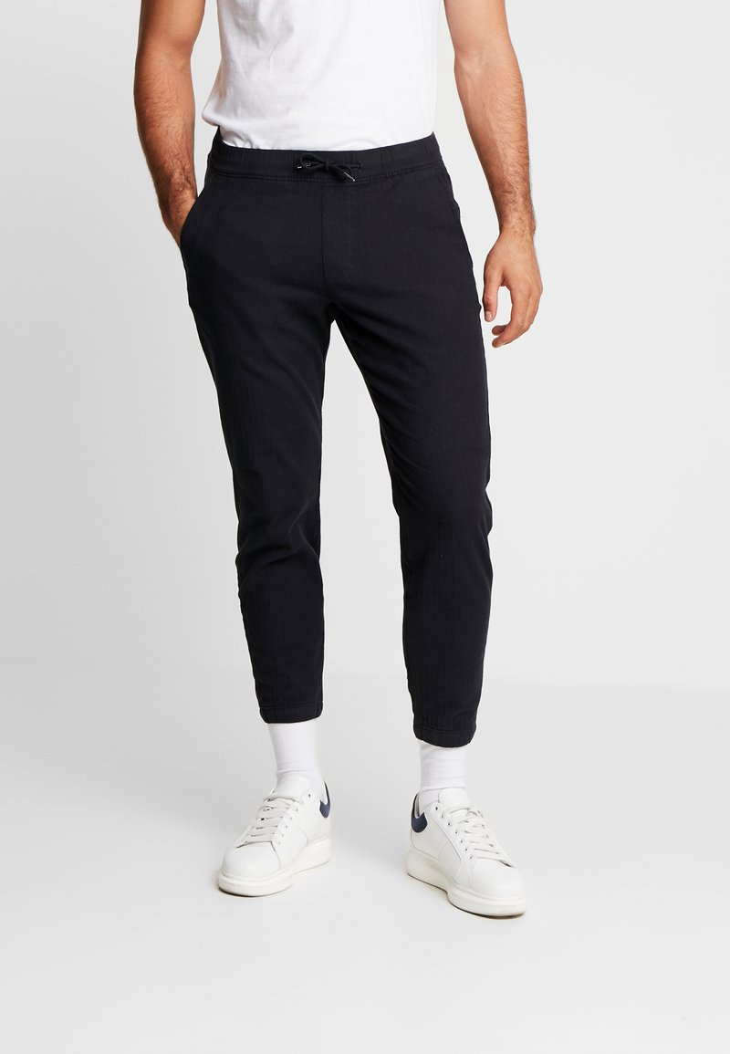 Abercrombie & Fitch - MENSWEAR JOGGER  - Pantalones - navy