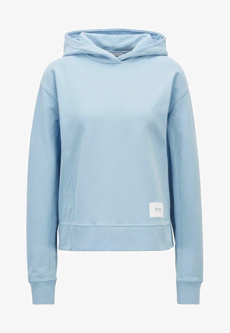 BOSS - ESQUA - Hoodie - light blue