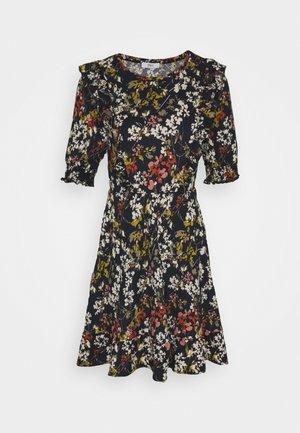ONLZILLE FRILL DRESS - Denní šaty - night sky