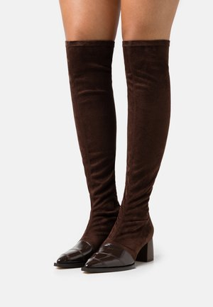 PHI - Over-the-knee boots - brown