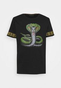 Brave Soul - Print T-shirt - black - 0