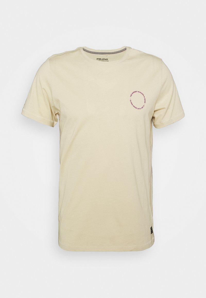 Blend - TEE - Print T-shirt - oyster gray