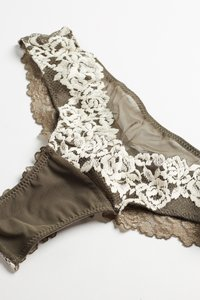 Intimissimi - PRETTY FLOWERS - Thong - olive - 5