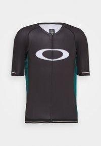 ICON  - Cyklistický dres - black/bayberry