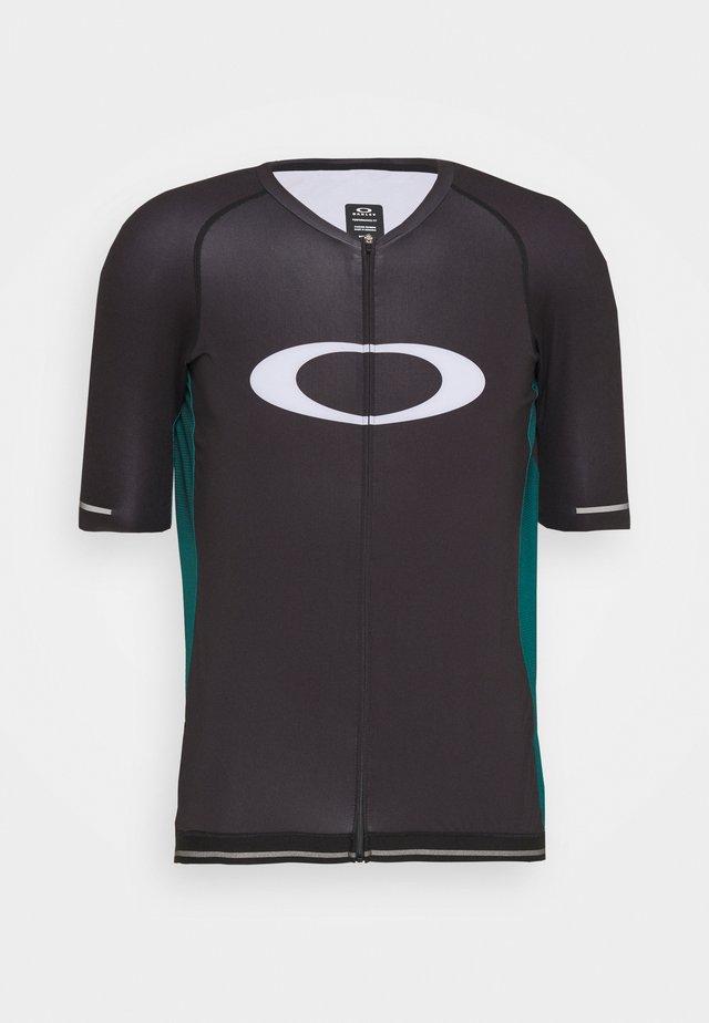 ICON  - T-shirt print - black/bayberry
