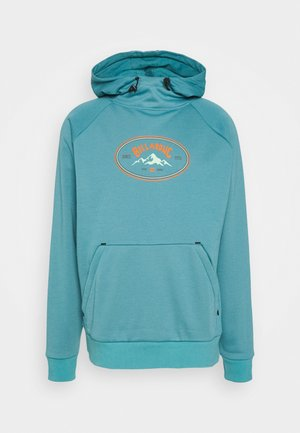 DOWNHILL HOOD - Mikina s kapucí - spray blue