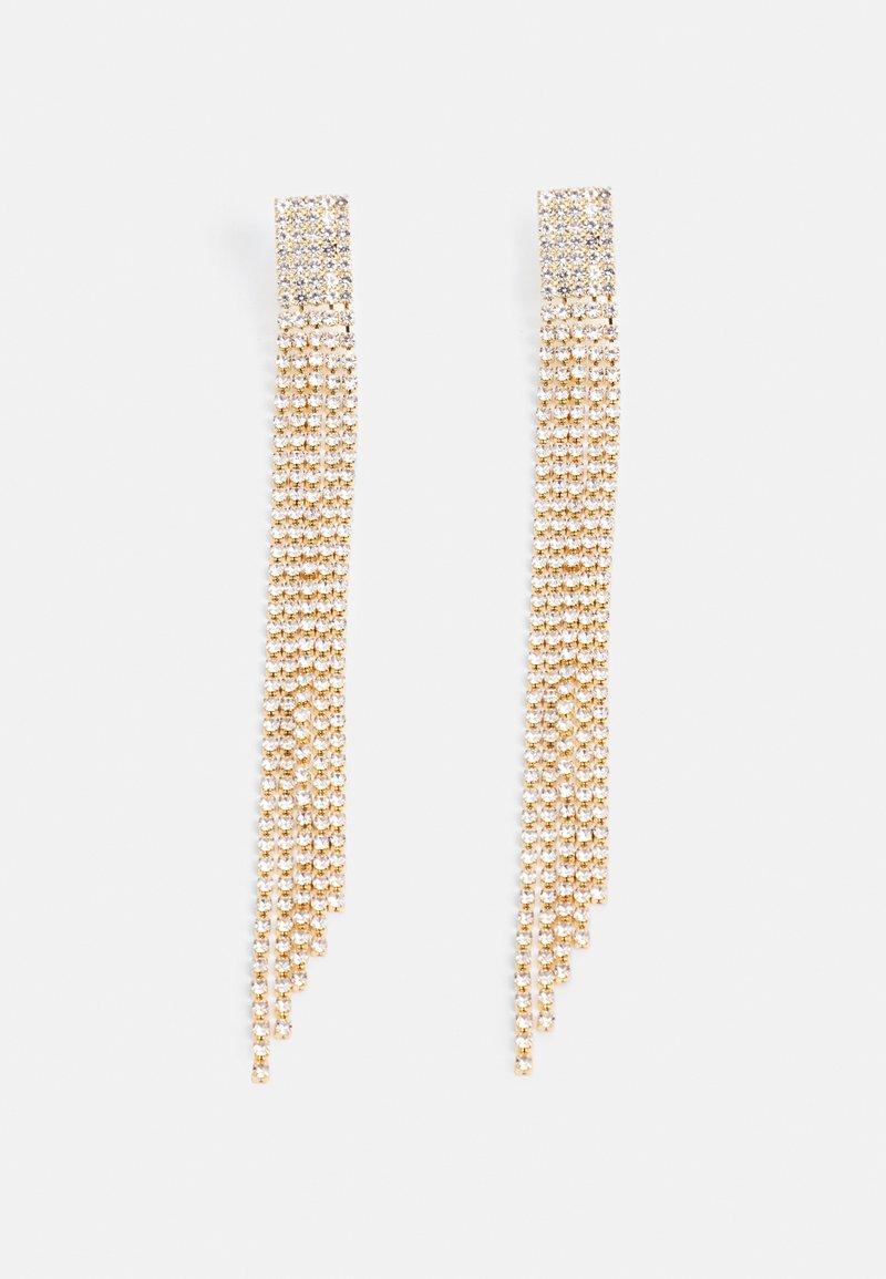 Topshop - MEGA CUPCHAIN - Earrings - gold-coloured